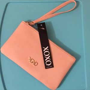 XOXO Light Pink Clutch Purse